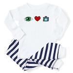 WTD: I Love Photography Toddler Pajamas
