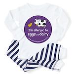 eggs and dairy Toddler Pajamas