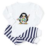 Artist penguin Toddler Pajamas