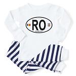 Romania Intl Oval Toddler Pajamas