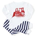 Bulldozer Toddler Pajamas