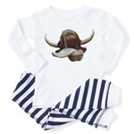 Cow Tongue Toddler Pajamas