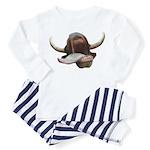 Cow Tongue Toddler Pajamas