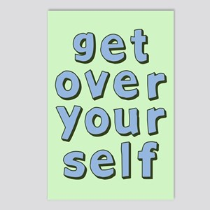 Get Over Yourself Postcards (Package of 8)