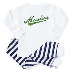 Retro Muslim Toddler Pajamas