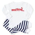 Steam Engine Toddler Pajamas