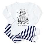 LEONARDO is My Homeboy Baby/Toddler Pajamas