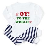 Oy To the World Toddler Pajamas