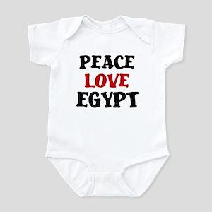 Peace Love Egypt Infant Bodysuit