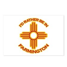 I'd Rather Be In Farmington Postcards (Package of