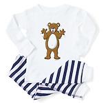 Happy Bear Toddler Pajamas