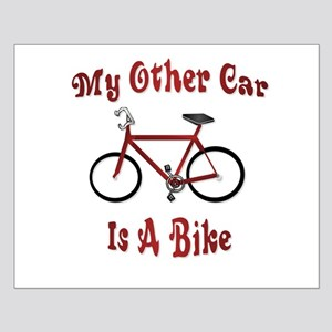 My Other Car Is A Bike Small Poster