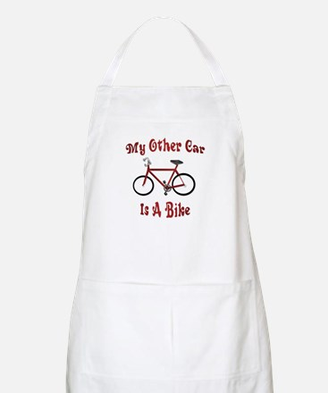My Other Car Is A Bike BBQ Apron