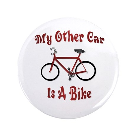 """My Other Car Is A Bike 3.5"""" Button (100 pack)"""