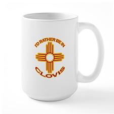 I'd Rather Be In Clovis Large Mug