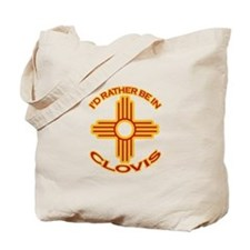 I'd Rather Be In Clovis Tote Bag