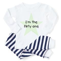I'm the flirty one Toddler Pajamas