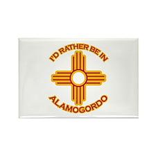 I'd Rather Be In Alamogordo Rectangle Magnet