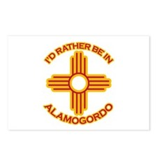 I'd Rather Be In Alamogordo Postcards (Package of