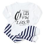 Phi Collage Toddler Pajamas