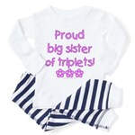 Big sister of triplets Toddler Pajamas