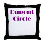 Dupont Circle Throw Pillow