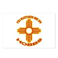 I'd Rather Be In Hobbs Postcards (Package of 8)