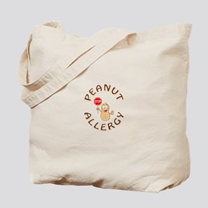 PEANUT ALLERGY Tote Bag