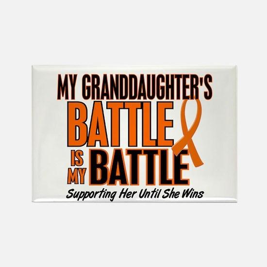 My Battle Too (Granddaughter) Orange Rectangle Mag