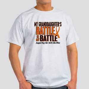 My Battle Too (Granddaughter) Orange Light T-Shirt