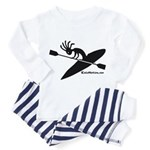 Kokopelli Kayaker Toddler Pajamas