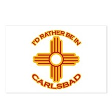 I'd Rather Be In Carlsbad Postcards (Package of 8)