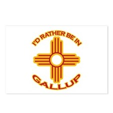 I'd Rather Be In Gallup Postcards (Package of 8)