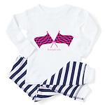 Boostgear's Hot Pink Racing Flags Toddler T
