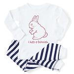 I Has a Bunneh - Baby/Toddler Pajamas