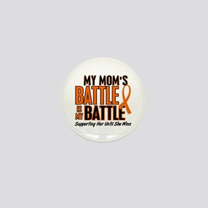 My Battle Too (Mom) Orange Mini Button