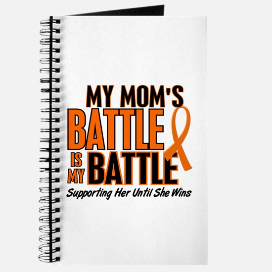 My Battle Too (Mom) Orange Journal