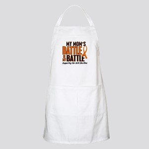 My Battle Too (Mom) Orange BBQ Apron