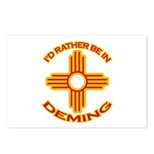 I'd Rather Be In Deming Postcards (Package of 8)