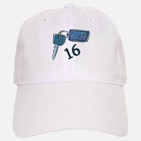 16th B-day Car Keys Cap