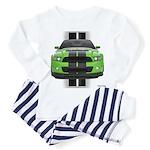 New Mustang Green Toddler Pajamas