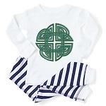 Celtic Four Leaf Clover Toddler Pajamas