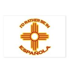 I'd Rather Be In Espanola Postcards (Package of 8)
