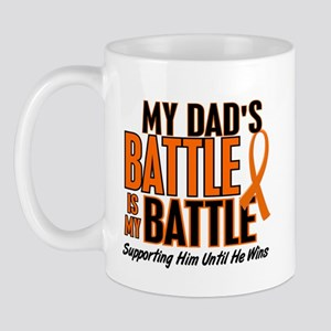 My Battle Too (Dad) Orange Mug