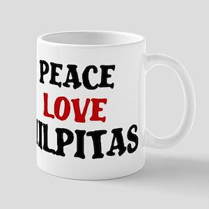 Peace Love Milpitas Mug