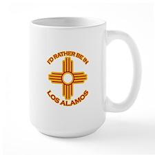 I'd Rather Be In Los Alamos Large Mug