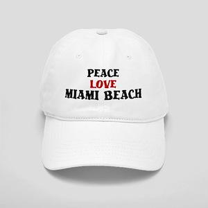 Peace Love Miami Beach Cap