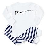 Power to the People Toddler Pajamas
