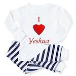 I Love Yeshua Toddler Pajamas