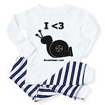 I <3 Turbo Snail - Toddler Pajamas